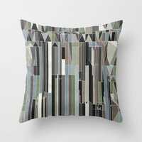 Penthouses and Parks (3) Throw Pillow