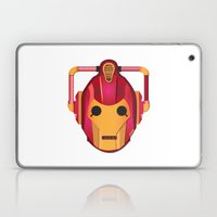 cyber iron man Laptop & iPad Skin