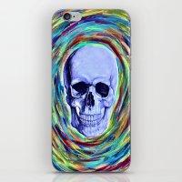 A Skull's Vortex iPhone & iPod Skin