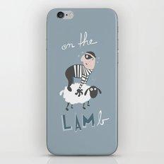 on the LAMb iPhone & iPod Skin
