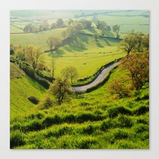 The Bend In The Road Canvas Print