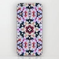 Kaleidoscope Flowers  iPhone & iPod Skin