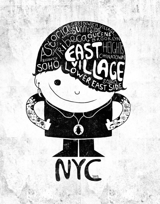 NYC Club Kid 2012 Art Print