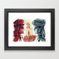 Us and Them - Renaissance Edition Framed Art Print