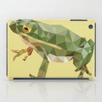 Geometric Frog iPad Case