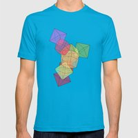 Ambivilance Mens Fitted Tee Teal SMALL