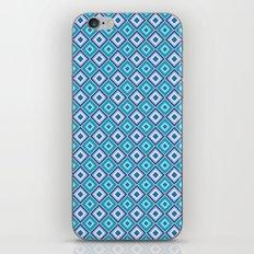 Blue Cubes - Geometric Work iPhone & iPod Skin