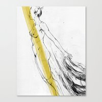 Separation Canvas Print