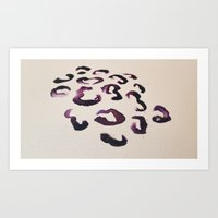 Ink Leopard Art Print