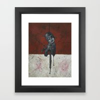 Tin Man Framed Art Print
