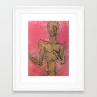Skipper Framed Art Print