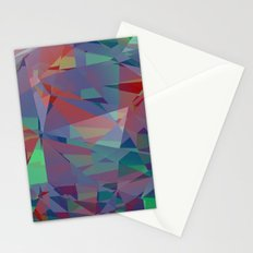 color crystal I Stationery Cards