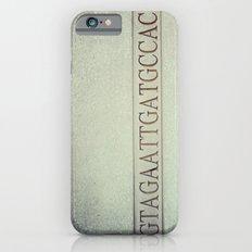 DNA strand, science love Slim Case iPhone 6s