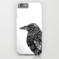 iPhone & iPod Case featuring Raven by Ejaculesc