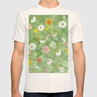 Secret Garden Mens Fitted Tee Natural SMALL