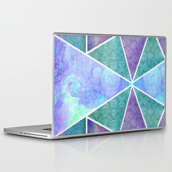 Geometric Reflection Laptop & iPad Skin