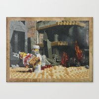 Death of the Innocent, Khost, Afghanistan Canvas Print