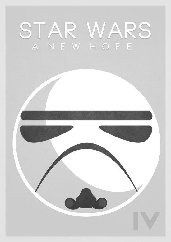 Star Wars IV: A New Hope Art Print