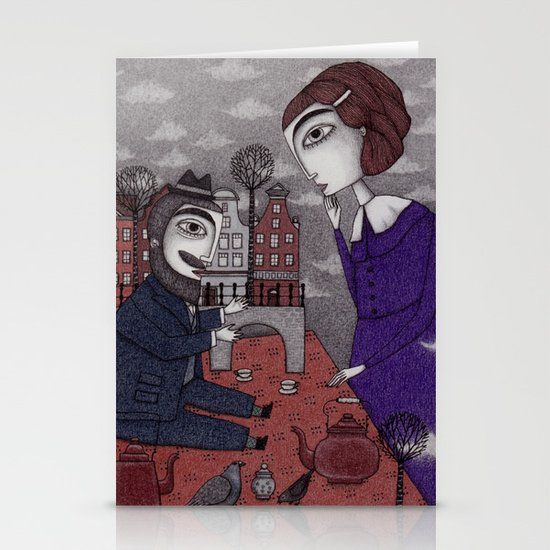 The Story Teller Stationery Card