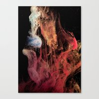 Creation - part 3 Canvas Print