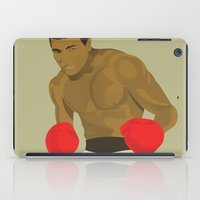 Cool image of a boxer iPad Case