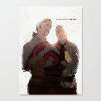 True Detective - After Y… Canvas Print