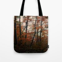 Autumn In The Woods 3 Tote Bag