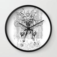 Let's Go On An Adventure Wall Clock