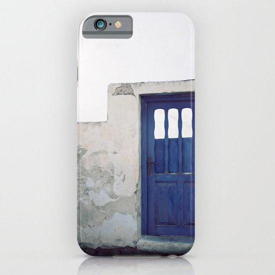 Santorini Door IV iPhone & iPod Case