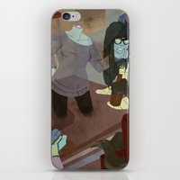 Waiting For The Moon To … iPhone & iPod Skin