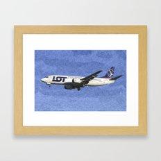 Lot Boeing 737 Art Framed Art Print