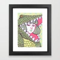 Disguise Framed Art Print