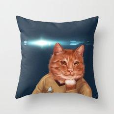 William Catner Throw Pillow