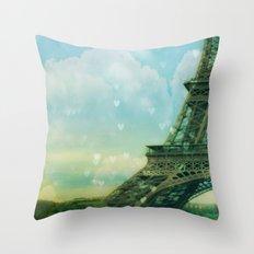 Paris Dreams Throw Pillow