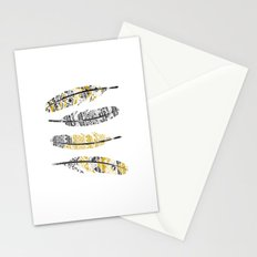 Mustard Feathers Stationery Cards