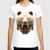 Polygon Heroes - The Lor… Womens Fitted Tee White SMALL