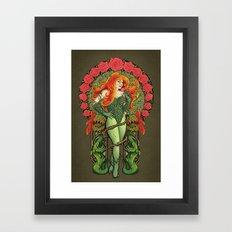 Pretty Poison Framed Art Print