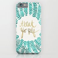 Treat Yo Self – Gold &… iPhone 6 Slim Case