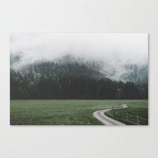 Road - Landscape Photogr… Canvas Print
