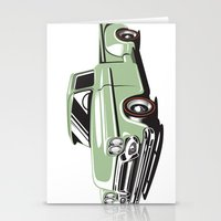 Rat Rod Truck Stationery Cards