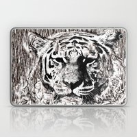 Tiger BW Laptop & iPad Skin