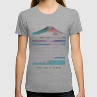 Mount Fuji Womens Fitted Tee Athletic Grey SMALL