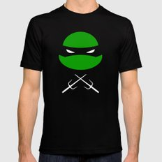 TMNT Raph poster Mens Fitted Tee SMALL Black