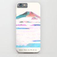 iPhone & iPod Case featuring Mount Fuji by Okti