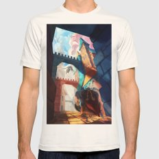 Dragons Mens Fitted Tee Natural SMALL