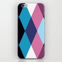 Diamond Pattern 3 iPhone & iPod Skin