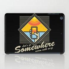 WARM WITH WI-FI iPad Case
