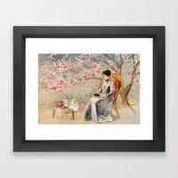 The Cherry Orchard Framed Art Print