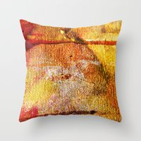 Refined by Fire Throw Pillow