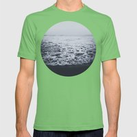 Out to Sea Mens Fitted Tee Grass SMALL